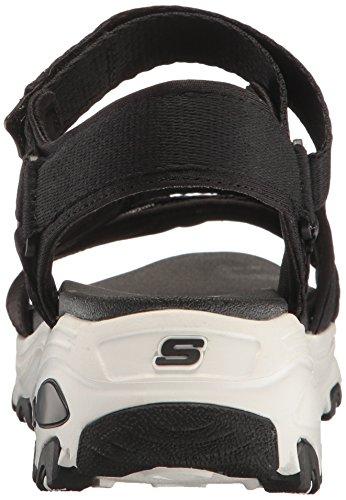 Skechers Cali Womens DLites-Fresh Catch Wedge Sandal Black
