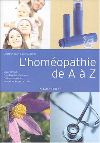 L'homopathie de A  Z