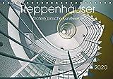 Treppenhäuser architektonische Kunstwerke (Tischkalender 2020 DIN A5 quer): Photokunst von Thomas Will (Monatskalender, 14 Seiten ) (CALVENDO Orte)