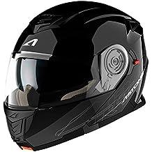 Astone Helmets, Casco, color Negro Brillante, talla M