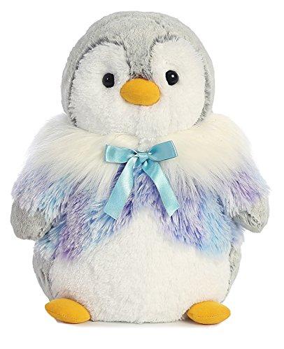 Aurora World 73949 11.5-inch Pompon Violet Panache Pingouin en peluche