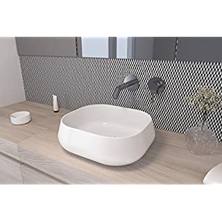 Art & Bath LAV. Lena Waschbecken auf Waschtischplatte, weiß-glanz, S