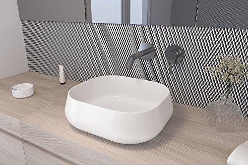 Art&Bath Lena lavabo porcelana sobre encimera 45x40x14,5