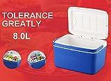 LJQ 8.0L Großer Kapazitäts-Kühler, Kalte Getränk-Frucht-Nahrungsmittelkonservierung, 48Hours mit Eis