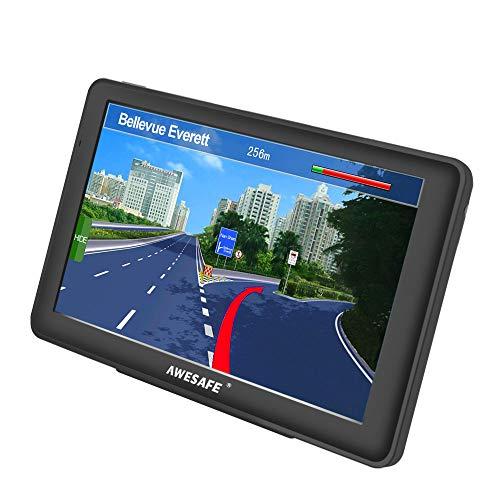 GPS Voiture avec écran Tactile cartographie de système de Navigation Automatique de 7 Pouces Europe 52 Pays Gratuit Multi-Langue intégré de 8 Go Support SD Carte