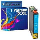 PlatinumSerie® 1x Druckerpatrone XXL TE1812 Cyan kompatibel zu Epson Expression Home XP-302 XP-305 XP-312 XP-313 XP-315