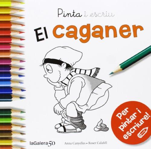 Pinta i escriu El Caganer por Anna Canyelles