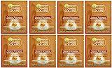 Garnier Ambre Solaire Natural Bronzeur Lingettes Bronzantes Visage & Corps 5,6 ml, Lot de 8