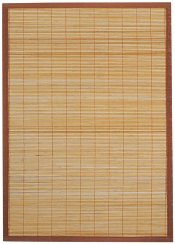 Ridder 79513080-350 Beach Wooden - Alfombrilla de baño de bambú (Aprox. 60 x 90 cm), Color marrón