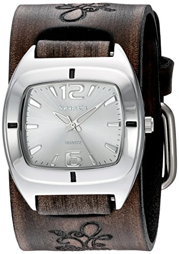 Nemesis Women's Analogue Japanese-Quartz Watch with Patent Leather Strap DBVFB090S