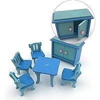 Preisvergleich für 5Fünf Simulation Tisch Küche Home Kinder 'S Toys Creative Ornaments (zufällige) Zufällig