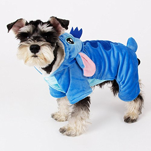 PAWZ Road Hunde Kostüm Verkleiderung Pullover Cartoon Cosplay mit 4 Hosenbeinen (Kostüme W D)