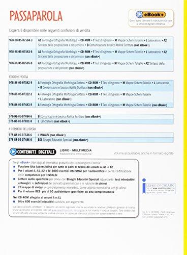 Passaparola. Vol. A1-A2-Test d'ingresso-Mappe schemi e tabelle. Per la Scuola media. Con CD. Con e-book. Con espansione online