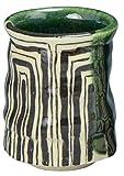 Kiyomizu Yaki Oribe 6.5cm Teetasse Ceramic Japanisch traditionell