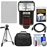 Unknown Essentials Bundle for Canon Powershot G15, G16 & G1 X with NB-10L Battery + Flash + Case + Tripod + HDMI Cable + Accessory Kit