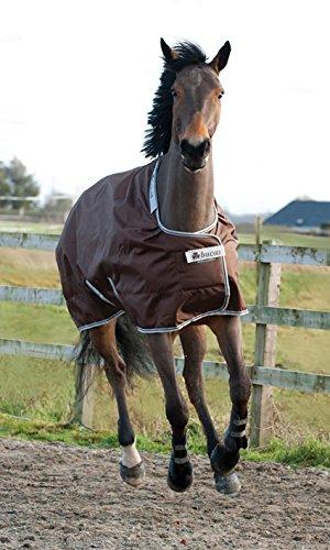 BUCAS Outdoor Pferdedecke SMARTEX RAIN, schokolade, 165