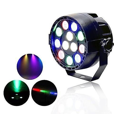 ZjRight PAR Licht LED Bühnenlicht 15W RGBW Disco Party Bar Pub