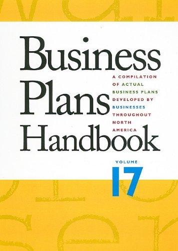 Business Plans Handbook (2010-03-12) par unknown