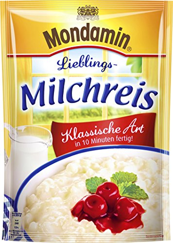 Mondamin Milchreis Klassische Art 3 Portionen Test