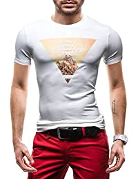 BOLF - T-shirt à manches courtes – GLO STORY 7441 – Homme