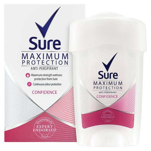 sure-women-maximum-protection-confidence-anti-perspirant-deodorant-cream-45ml-pack-of-6