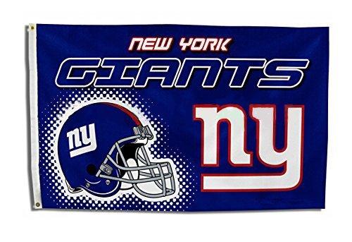 Fünf Star Flaggen New New York Giants Flagge, Giants Flagge, Flagge für Den Innen- und Außenbereich Geeignet, 100% Polyester, 3X 5Fuß. - New York Giants-stoff