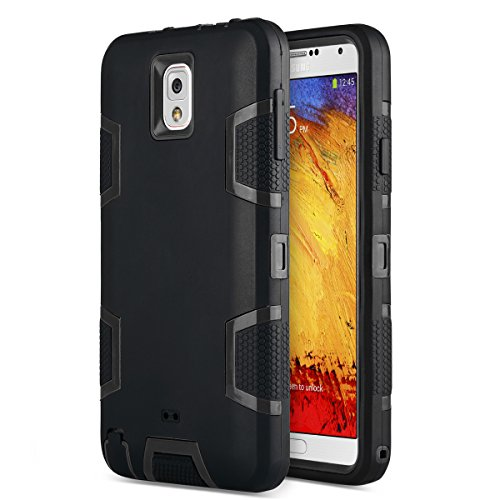 Ulak Mobile Case For Galaxy Note 3 (Black)