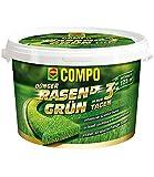 COMPO Rasen Grün 3,75 kg Rasendünger Grünfärbung Ihres Rasen innerhalb von nur 3 Tagen