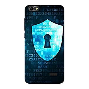 Special Cyber Secur Print Back Case Cover for Honor 4C