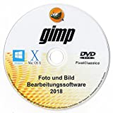 Bildbearbeitung Software 2018 Editor Photoshop Elements Kompatibel für PC Windows 10 8 8.1 7 Vista XP, Mac OS X und Linux