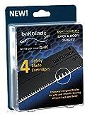 BAKBLADE 2.0 Ersatzklingen 4er-Set Passend zum Rücken- und Körperrasierer BAKBLADE 2.0