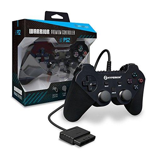 """Hyperkin \""""Warrior\"""" Premium Controller für PS2, Schwarz"""