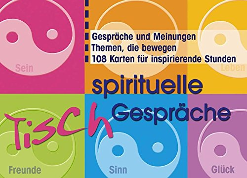 Spirituelle Tisch-Gespräche, 108 Karten (Geschenkartikel)