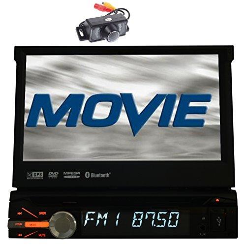 Autoradio 1DIN 7''Touch Doble Pantalla del Sistema de navegación GPS Coches Reproductor...