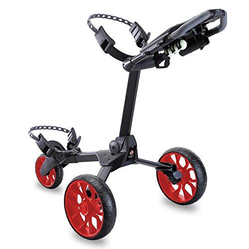 Stewart Golf Chariot de Golf R1-s N/A Black/Red Wheels