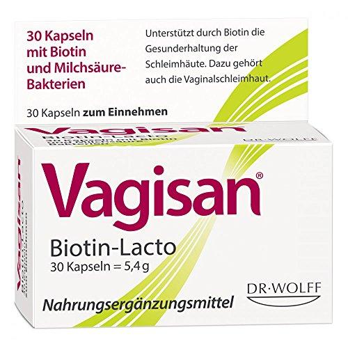 Vagisan Biotin-Lacto, 30 St. Kapseln (Lacto-30 Kapseln)