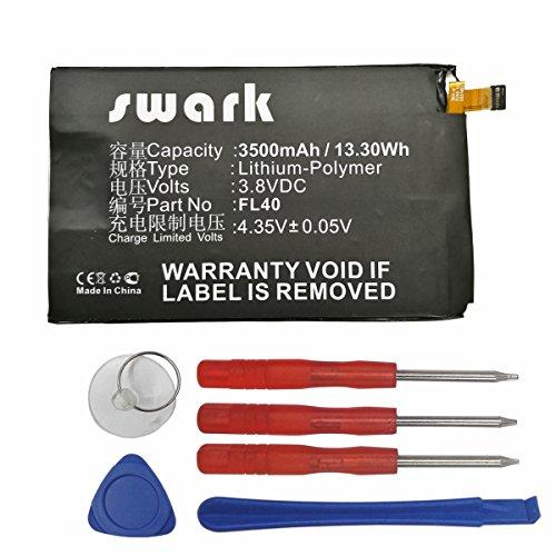 swark Akku; Motorola fl40snn5963b-Li–Polymer 3500mAh–per Droid Maxx 2, Moto X 3a, X Play, xt1560, XT1561, XT1562XT1563, Xt1565