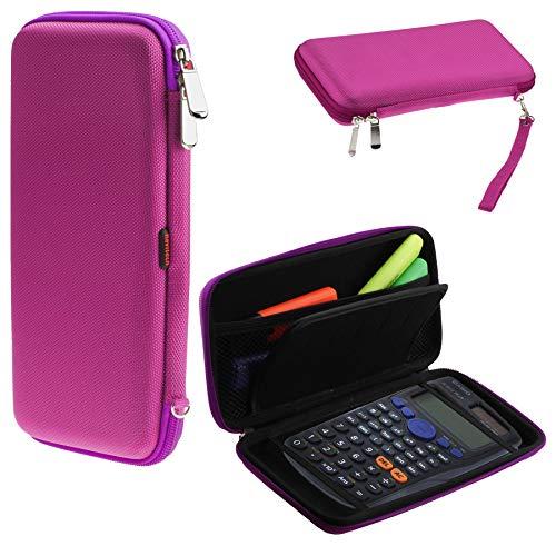 Sicher Eva Calculatrice Grafische/Taschenrechner Schutztasche/Abdeckung / Fall/Gehäuse für TI Nspire CX CAS ()