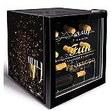 Husky Minikühlschrank Kühlbox Minibar Kühlschrank EEK A+ 45,8 L KK50-PROSECCO