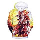 CTOOO 2018 Unisex Fairy Tail Trend 3D Digital Druck Hoodies Sweatshirts Cool Kapuzen-Pullover Paar Jacke Tops Winter