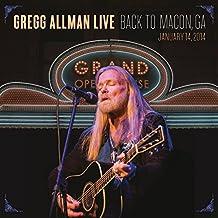 Gregg Allman Live: Back to Macon,Ga (Limited Edition)