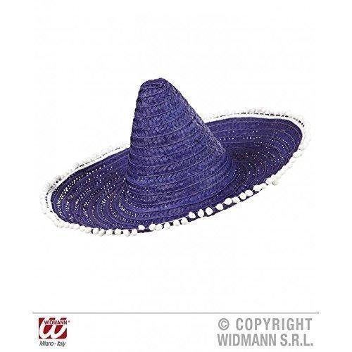 52ada9d0e37bc Moderno Sombrero mexicano   Sombrero en azul – lila con gracioso Borlas en  la Marco