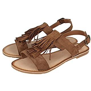 GIOSEPPO Women, Sandals, Adroit, Leather, 4