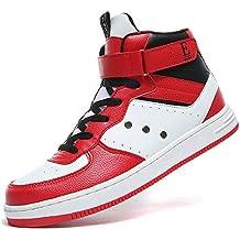 ASHION Scarpe da Ginnastica Alte Unisex Adulto Sneaker Scarpe per Bambini e  Ragazzi Sneaker 7770ccfd089