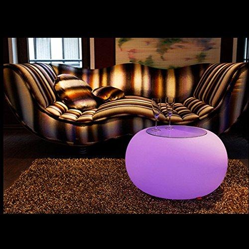 Bazaar kreative Fernbedienung LED Tisch Bar KTV Bar Pub Leuchtleiter Dekoration in helle Farbtöne Garten-Haus