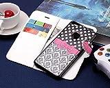 Coque Huawei P10 Lite,Etui Huawei P10 Lite,Slynmax [Avec un Stylo Tactile] [Motif de Nœud Papillon] Luxe Mode Peint Housse Flip Cover Clapet 2 en 1 Coque Protecteur en Cuir PU Coque avec TPU Silicone Housse avec Portable Dragonne Stand Support et Carte de Crédit Slot pour Huawei P10 Lite
