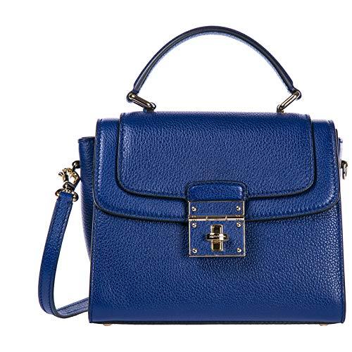 fa5ab07ac5 Dolce & Gabbana sac à main femme en cuir greta blu