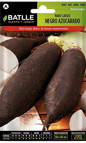 Batlle Gemüsesamen - Lange schwarze Zuckerrübe (9300 Samen)