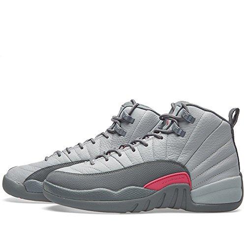 Nike Mädchen 510815-029 Basketballschuhe Grau