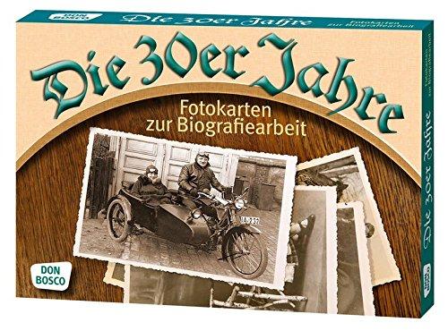 Die 30er Jahre. Fotokarten zur Biografiearbeit (Fotokarten zur Biografiearbeit / Demenz (9 x 13 cm) par Margarita Hense